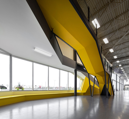 Press kit | 886-01 - Press release | Design of the exhibition center of Sherbrooke - CCM² - Côté Chabot Morel architectes - Commercial Architecture - Photo credit: Stéphane Groleau - stephanegroleau.com