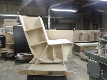 Press kit | 890-01 - Press release | The Bookseat - Fishtnk Design Factory - Product - Photo credit: Fishtnk Inc.