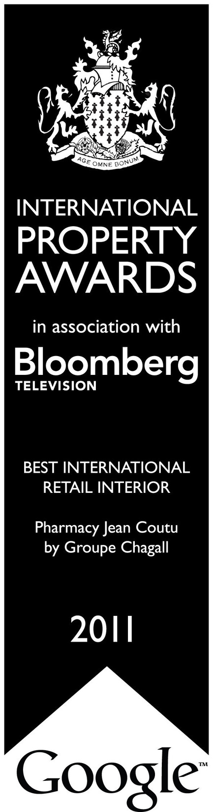 Press kit | 794-05 - Press release | Groupe Chagall won Best International Retail Interior At The International Property Awards Winners in London - Chagall Design - Competition
