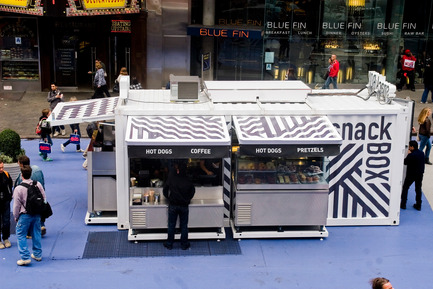 Press kit | 675-04 - Press release | SnackBox, Times Square New York - Aedifica - Art de vivre - Photo credit: Cesar Nicolescu