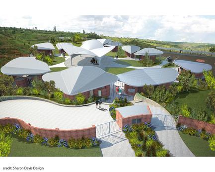 Press kit | 879-01 - Press release | Women's Opportunity Center in Kayonza, Rwanda - Sharon Davis Design - Institutional Architecture