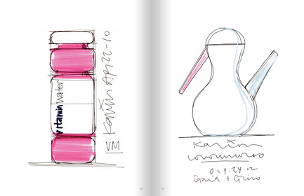 Press kit | 868-01 - Press release | Sketch - Artworks of Karim Rashid - Frame Publishers - Edition
