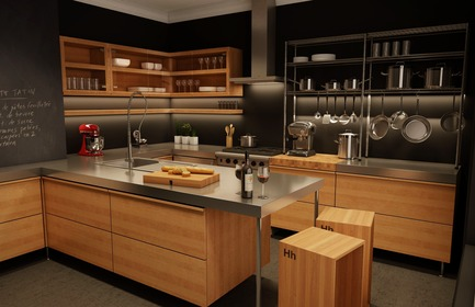 Press kit | 862-01 - Press release | Nouvelle division HhCUISINE - À Hauteur d'homme - Design industriel - JULIE - Photo credit: JULIE