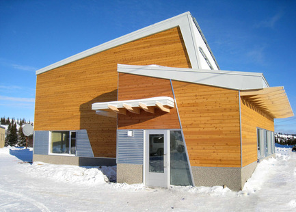 Dossier de presse | 612-06 - Communiqué de presse | Community Science Centre at the Centre d'études nordiques - Fournier, Gersovitz, Moss, Drolet et associés architectes (FGMDA) - Institutional Architecture - Crédit photo : Isabelle Laurier