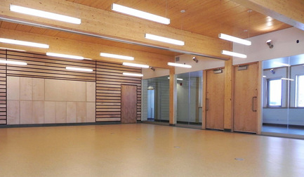 Dossier de presse | 612-06 - Communiqué de presse | Community Science Centre at the Centre d'études nordiques - Fournier, Gersovitz, Moss, Drolet et associés architectes (FGMDA) - Institutional Architecture - Crédit photo : Carolyne Fontaine