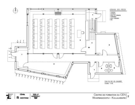 Press kit | 612-06 - Press release | Community Science Centre at the Centre d'études nordiques - Fournier, Gersovitz, Moss, Drolet et associés architectes (FGMDA) - Institutional Architecture