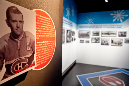 Press kit | 831-02 - Press release | XYZ Cultural Technology has produced the exhibition: Hockey-it's in our DNA - XYZ Technologie culturelle - Event + Exhibition - Photo credit: Renaud Philippe