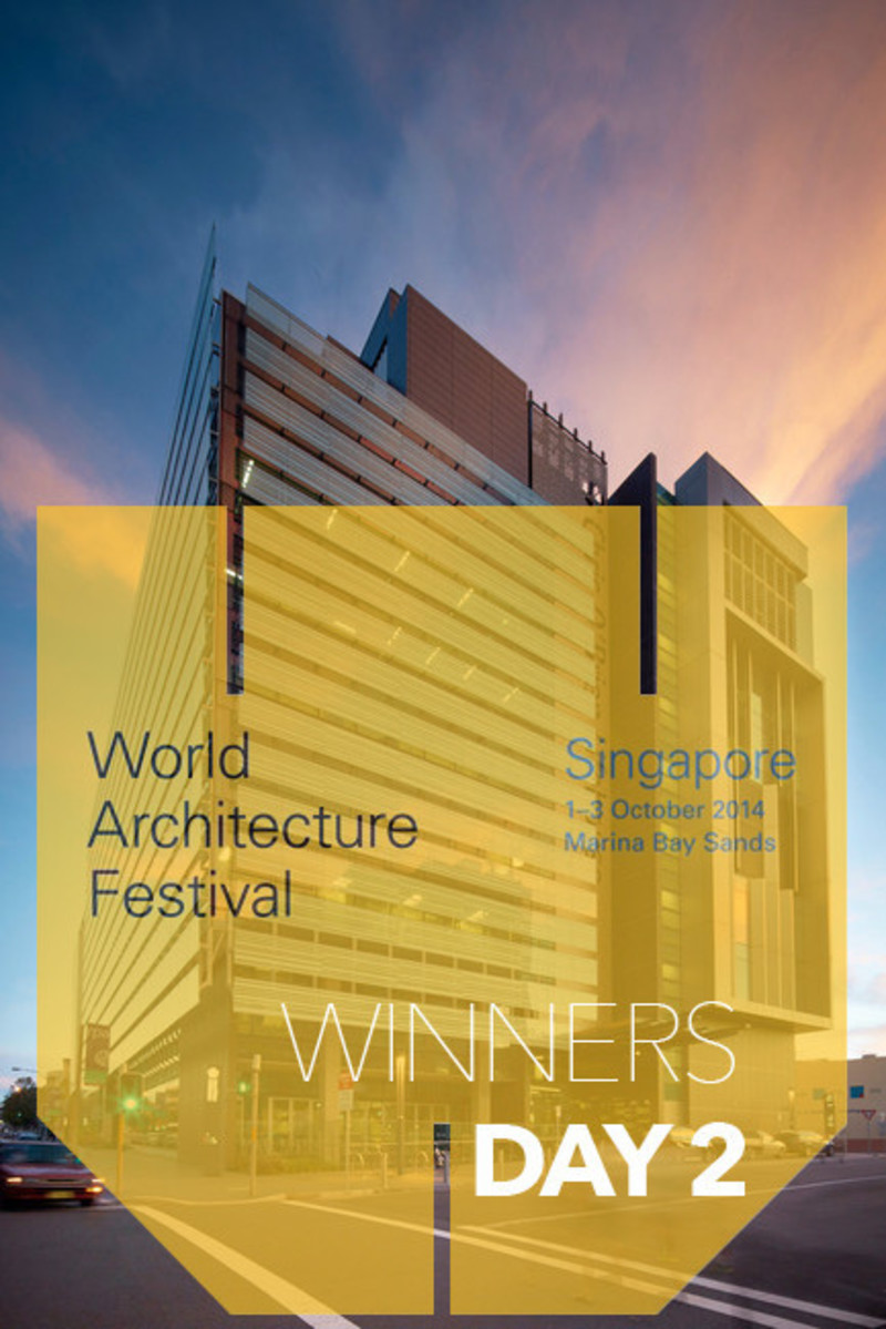 Newsroom | v2com-newswire | Newswire | Architecture | Design | Lifestyle - Press release - 2014 Winners announced Day two - World Architecture Festival (WAF)