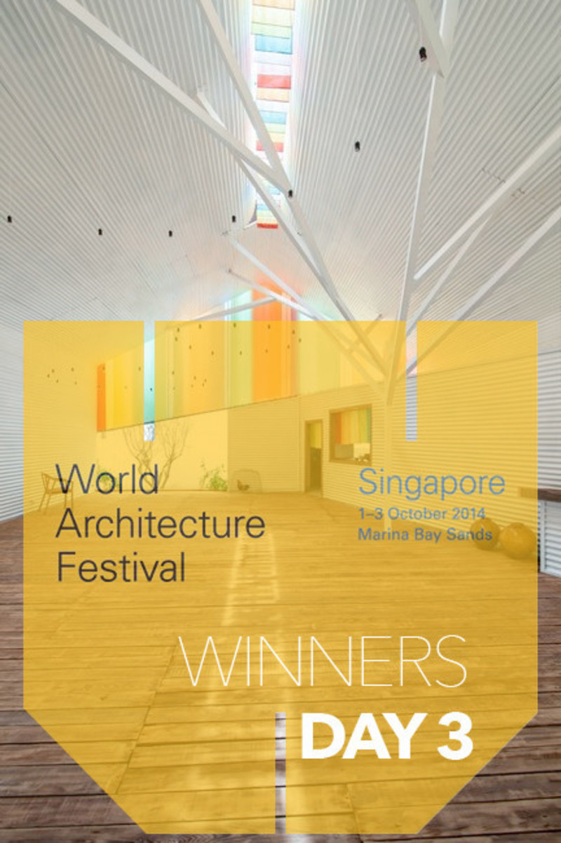 Newsroom - Press release - 2014 Winners announced Day three - World Architecture Festival (WAF)