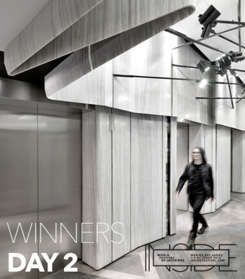 Press kit - Press release - An office of the future and a cinema inspired by the past are among the winners of premier international interior design awards - INSIDE: World Festival of Interiors