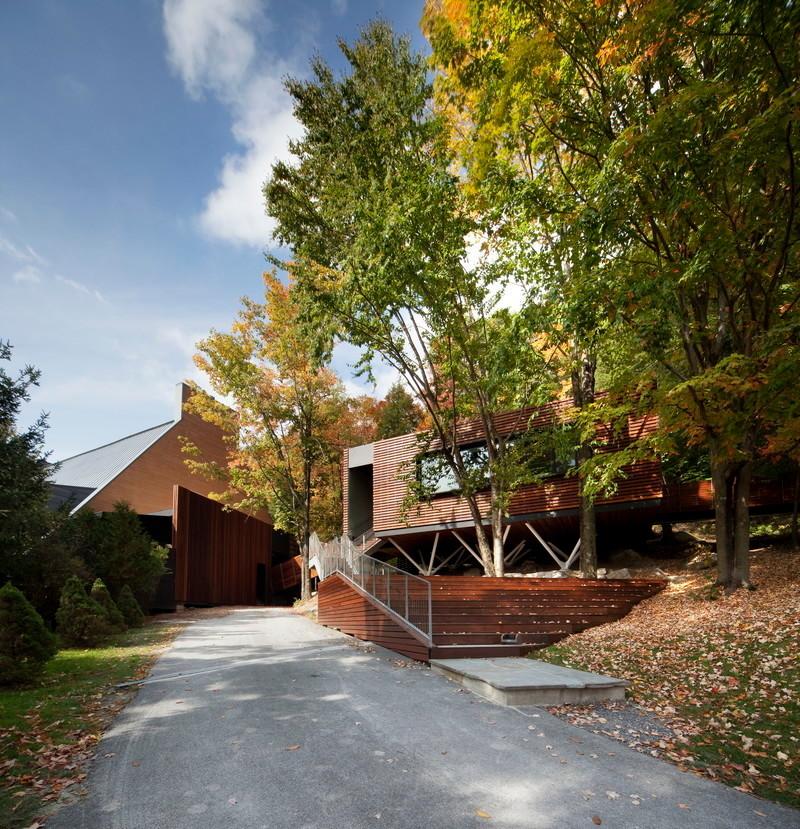 Salle de presse - Communiqué de presse - Balnea : Pavillon des arbres - Blouin Tardif Architecture-Environnement