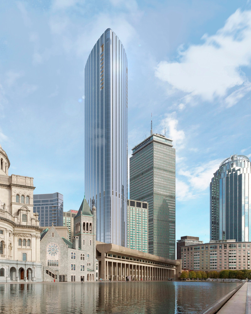 Newsroom | v2com-newswire | Newswire | Architecture | Design | Lifestyle - Press release - Boston's Tallest Residential Building, Designed by Pei Cobb Freed & Partners, Breaks Ground - Pei Cobb Freed & Partners