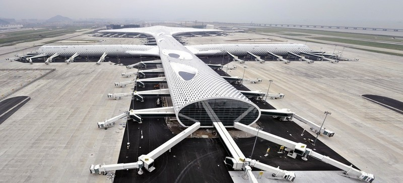 Newsroom | v2com-newswire | Newswire | Architecture | Design | Lifestyle - Press release - Shenzhen Bao'an International Airport - Terminal 3 opens 28 November, 2013 - Massimiliano and Doriana Fuksas