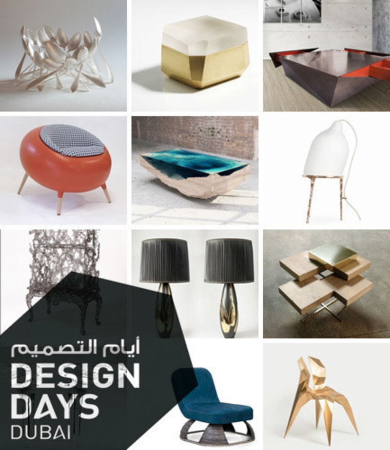 Newsroom - Press release - Design Days Dubai 2015 - Gallery Announcement - Design Days Dubai