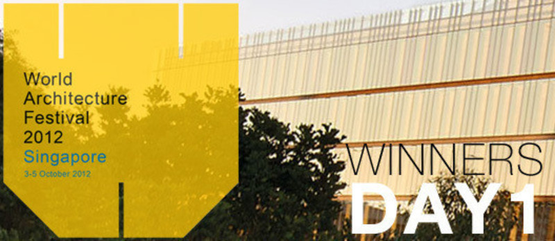 Newsroom - Press release - 2012 Winners announcedDay one - World Architecture Festival (WAF)