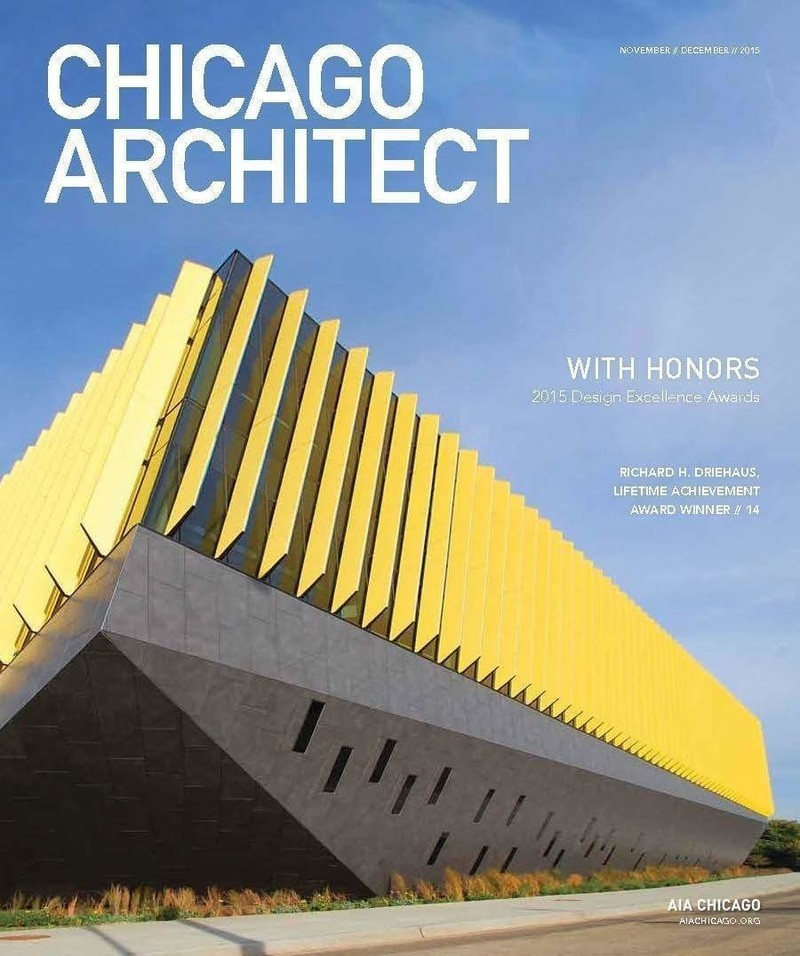 Newsroom - Press release - Chicago Architects Design for the World; AIA Chicago Awards Recognize the Best of the Work - AIA Chicago