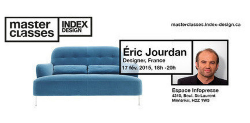 Newsroom | v2com-newswire | Newswire | Architecture | Design | Lifestyle - Press release - Meet Eric Jourdan, Industrial designer - Index-Design