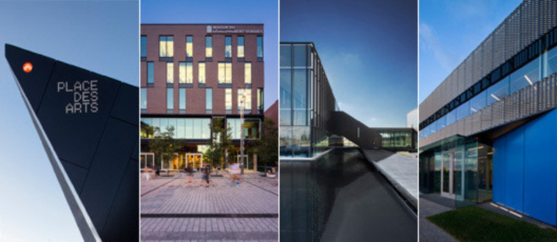 Newsroom | v2com-newswire | Newswire | Architecture | Design | Lifestyle - Press release - Four projects shorlisted for the Award for Excellence in Architecture 2013 from theQuebec OrderofArchitects - Menkès Shooner Dagenais LeTourneux Architectes