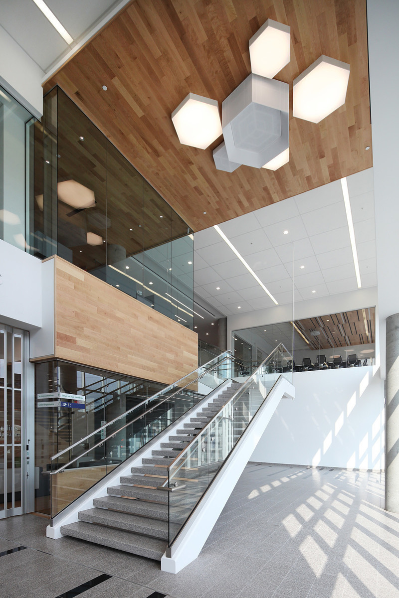 Newsroom - Press release - Caisse Desjardins Sainte-Foy - Hatem+D Architecture