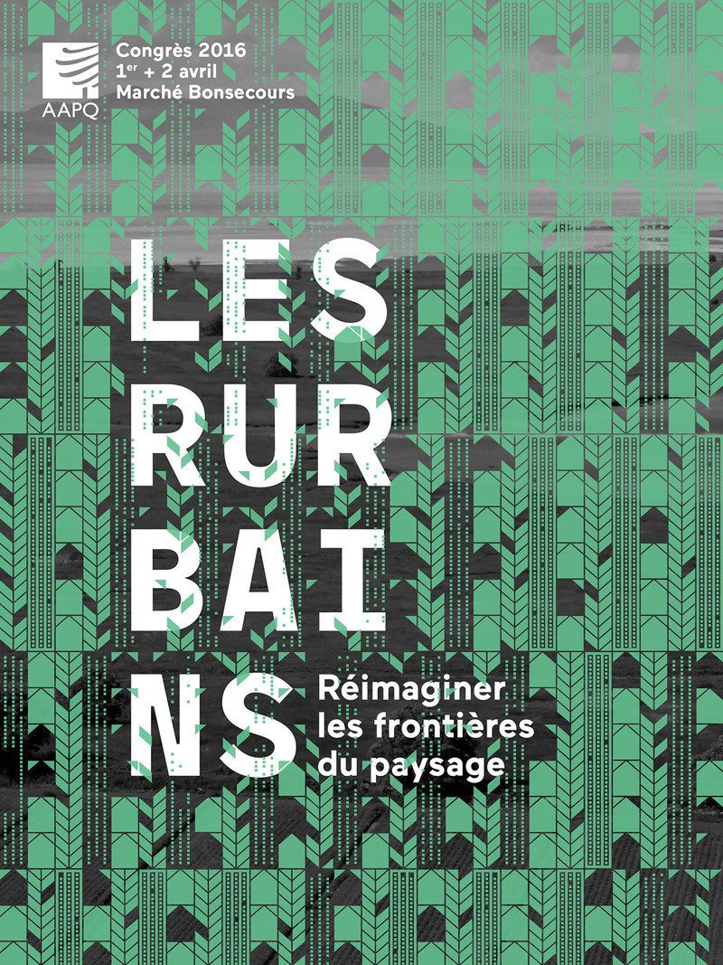 Newsroom | v2com-newswire | Newswire | Architecture | Design | Lifestyle - Press release - Les Rurbains - Rethinking the boundaries of landscape - L'Association des architectes paysagistes du Québec (AAPQ)