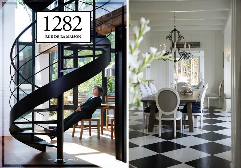 Newsroom | v2com-newswire | Newswire | Architecture | Design | Lifestyle - Press release - Welcome to our home! - 1282 rue de la maison