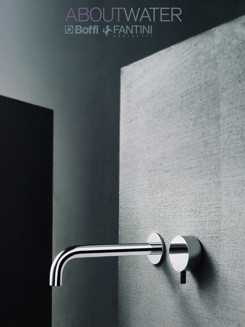 Press kit - Press release - Discover ABOUTWATER by Fantini + Boffi at Batimat - Batimat