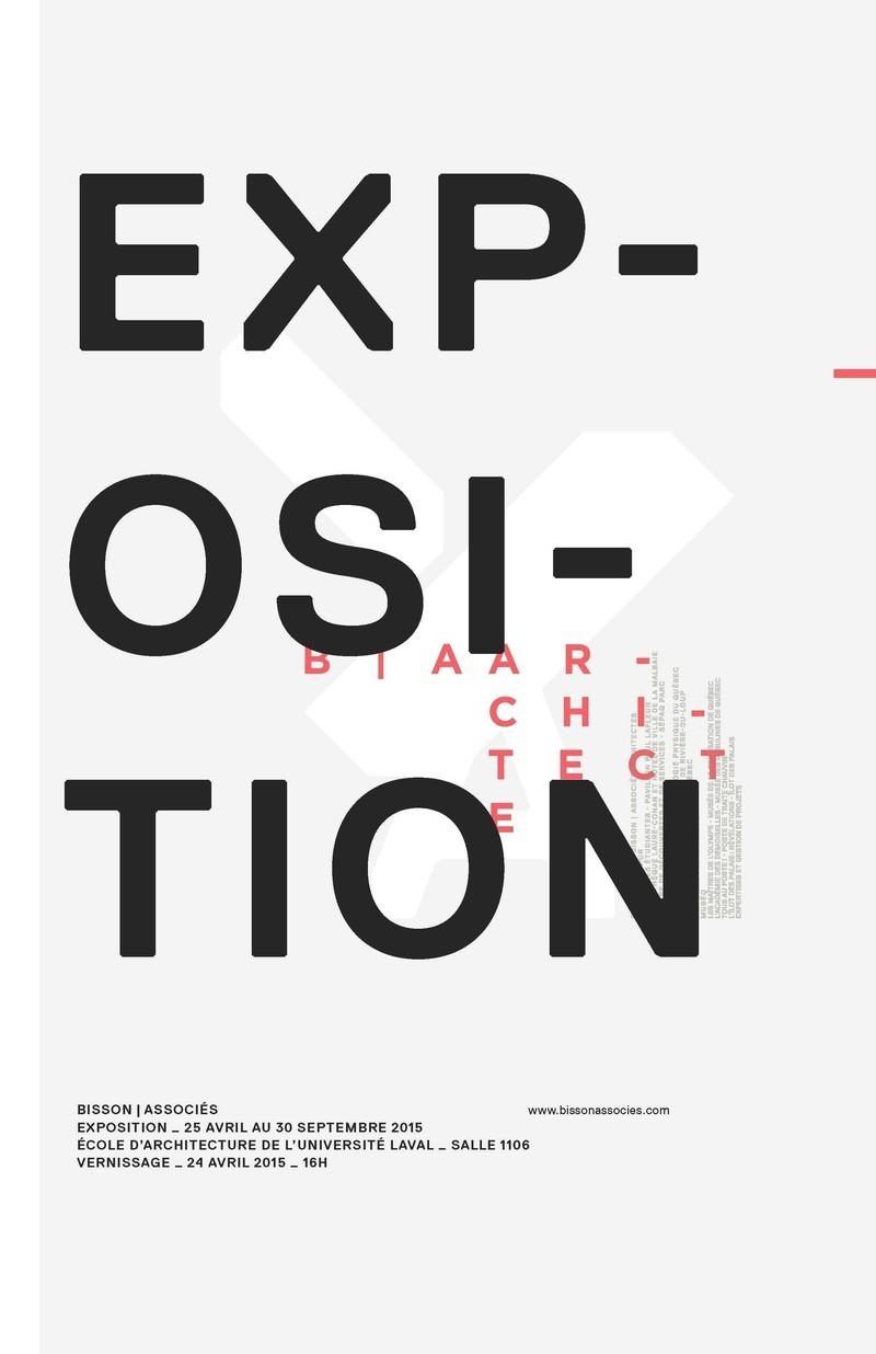 Press kit - Press release - Exposition et conférence ''Derrière le miroir'' - Bisson | associés architectes