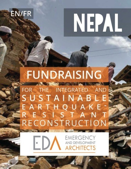 Newsroom | v2com-newswire | Newswire | Architecture | Design | Lifestyle - Press release - Fundraising for the integrated and sustainable earthquake-resistant reconstruction of Nepal - Emergency and Development Architects