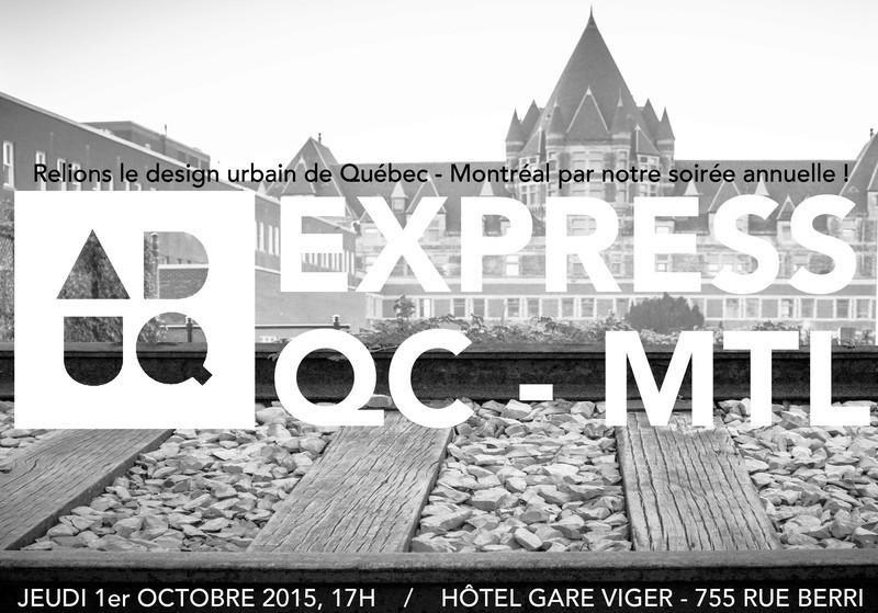 Salle de presse - Communiqué de presse - Soirée annuelle de l'Association du Design Urbain du Québec - Association du Design Urbain du Québec (ADUQ)