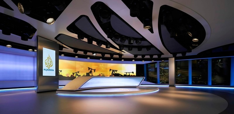 Press kit - Press release - Veech x Veech designs one of the world's most advanced production studios for Al Jazeera in The Shard, London - Veech x Veech