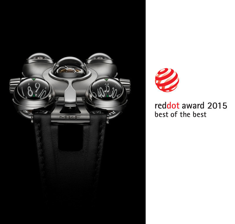 "Press kit - Press release - HM6 'Space Pirate' wins the Red Dot: ""Best of the Best"" prize - MB&F"