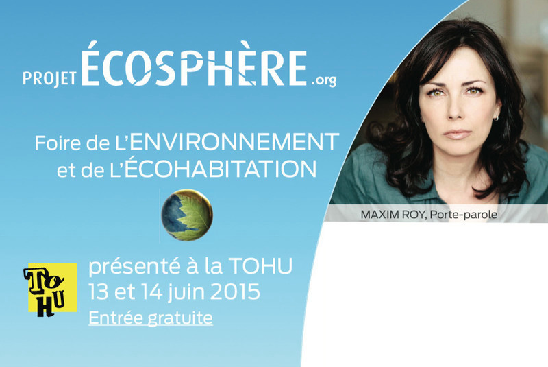 Press kit - Press release - Project ECOSPHERE at the TOHU on June 13-14th - Project ECOSPHERE