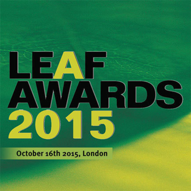 Dossier de presse - Communiqué de presse - LEAF Awards 2015 announces official shortlist - Arena International Group