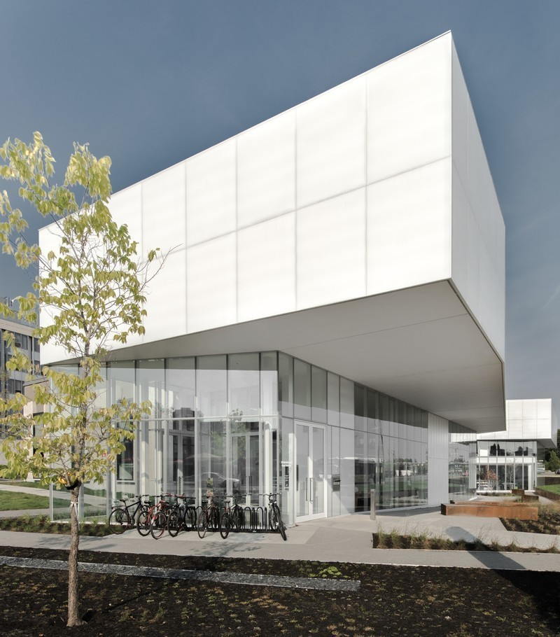 Newsroom - Press release - Official inauguration of the Saul-Bellow library, in the Lachine district - Bureau du design - Ville de Montréal