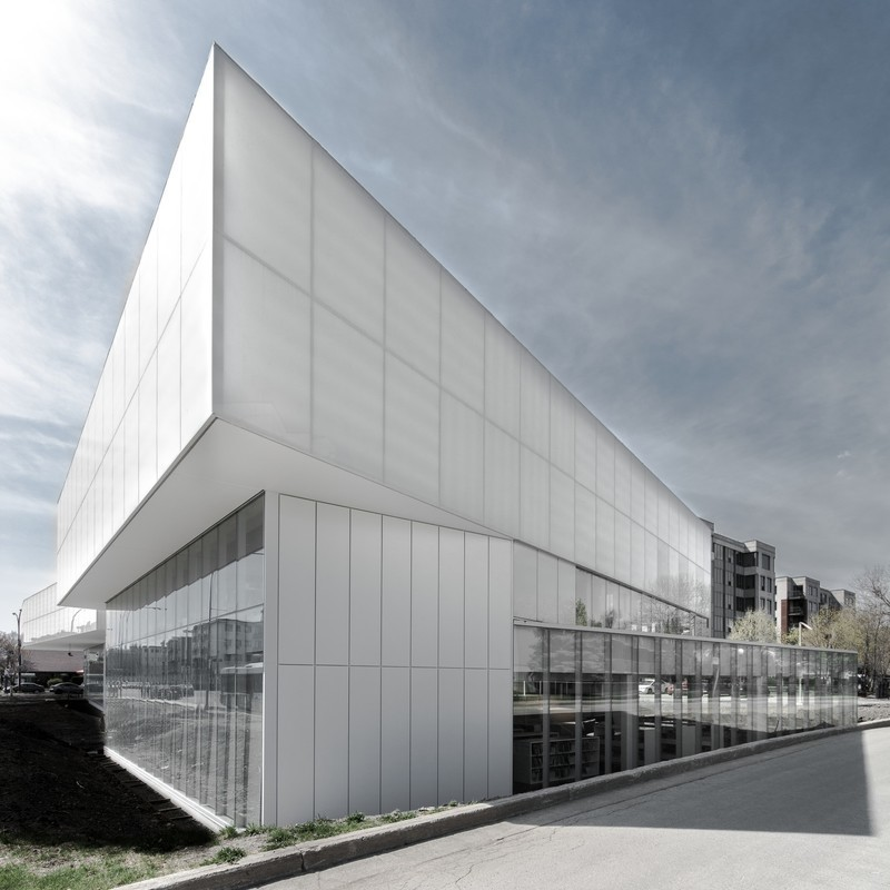 Newsroom - Press release - Saul-Bellow Library - Chevalier Morales Architectes