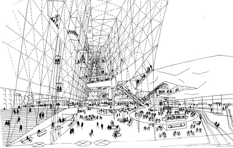 Newsroom - Press release - « Montréal jamais construit, 1990-2015 » exhibition+ « Perdants magnifiques » evening at Phi Centre - Maison de l'architecture du Québec