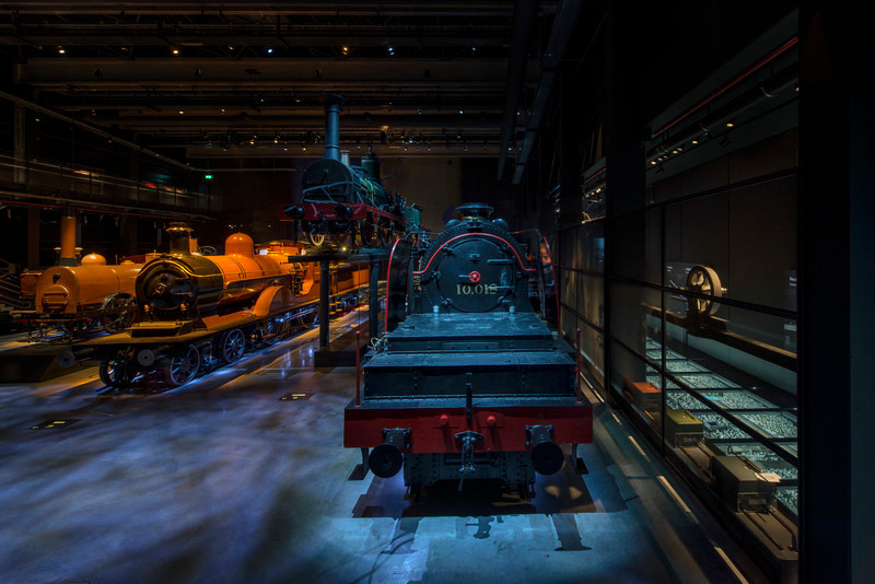 Newsroom | v2com-newswire | Newswire | Architecture | Design | Lifestyle - Press release - Multisensory experience at the new Belgian railway museum Train World - Lightemotion