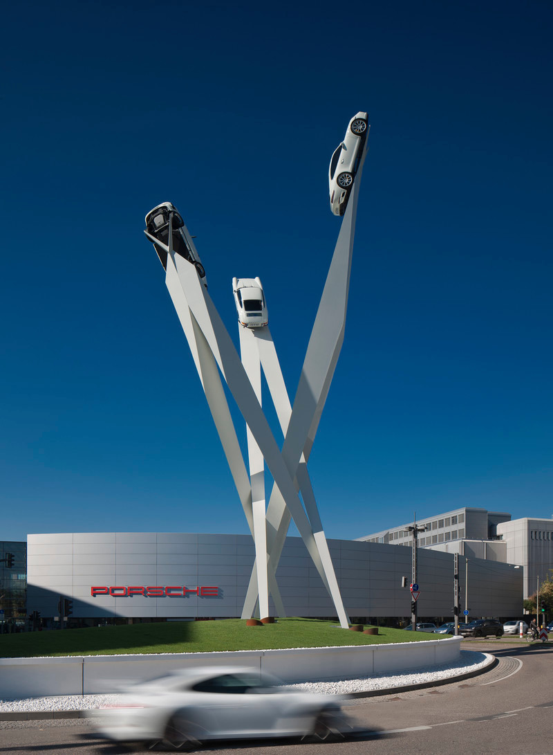 Newsroom - Press release - Porscheplatz Sculpture - Gerry Judah