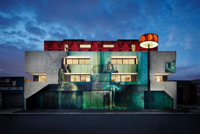 Press kit - Press release - 2015 International Leaf Awards-Best Mixed-use Building - Kavellaris Urban Design - KUD
