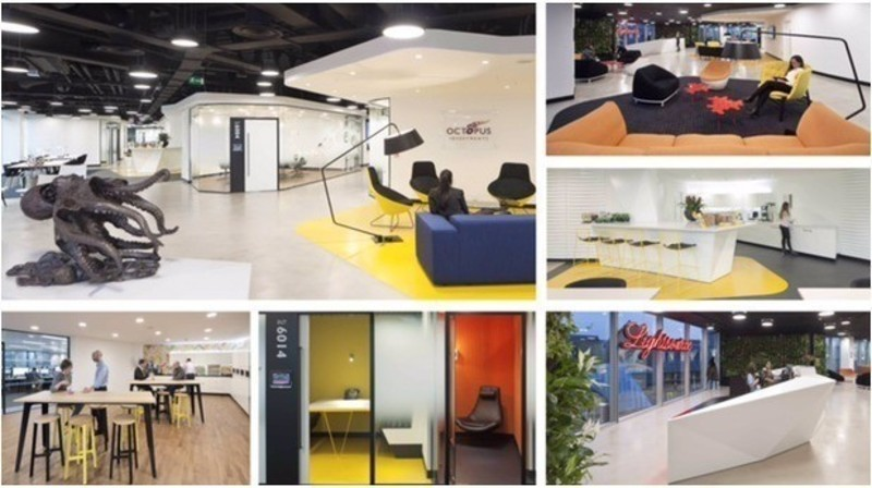Press kit - Press release - Penson design a Lively and Flexible Space for Octopus - Penson