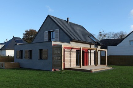 Newsroom - Press release - House Built To French 2012 Energy Regulations Near Sainte-Anne-d'Auray - Patrice Bideau