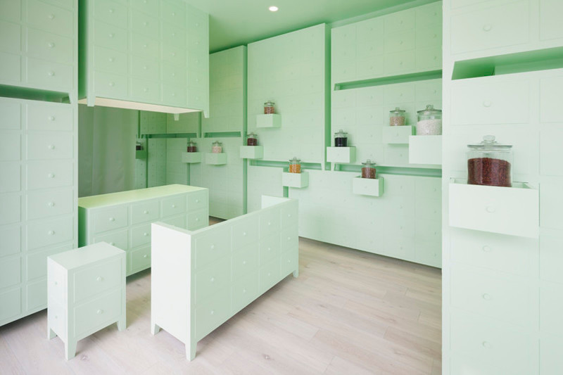 Press kit - Press release - Sumiyoshido kampo lounge, clinic for acupuncture and moxibustion - id inc.