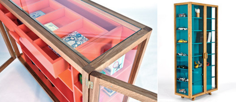 Newsroom | v2com-newswire | Newswire | Architecture | Design | Lifestyle - Press release - Vitrina Collection Colour through the looking glass - H for Case Furniture