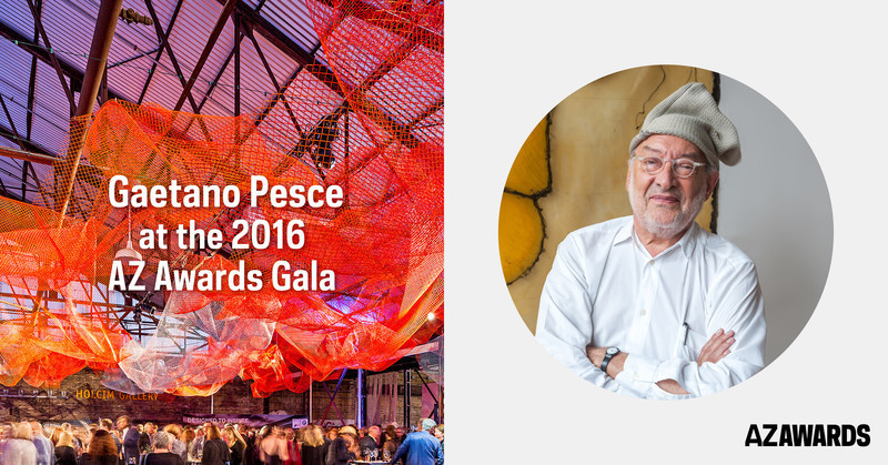 Newsroom | v2com-newswire | Newswire | Architecture | Design | Lifestyle - Press release - Winners of the Sixth Edition of the AZ Awards to be announced at a Gala reception on June 17, in the company of guest of honour Gaetano Pesce - Azure Magazine