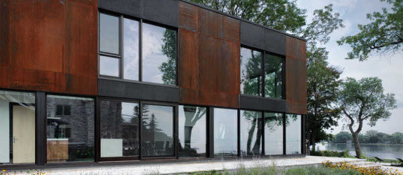 Newsroom - Press release - Bord-du-Lac House - Henri Cleinge, architect