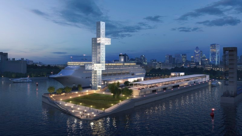 Newsroom | v2com-newswire | Newswire | Architecture | Design | Lifestyle - Press release - Iberville International Maritime Terminal and Alexandra Pier - Provencher_Roy