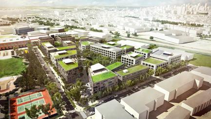 Salle de presse - Communiqué de presse - Prix national de design urbain pour le plan de développement du Technopôle Angus – Phase II - Provencher_Roy