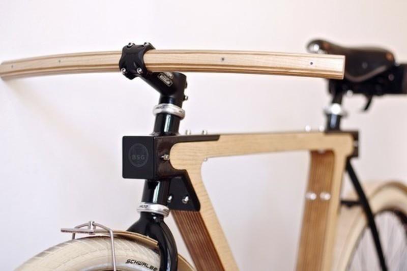 Dossier de presse - Communiqué de presse - WOOD.b, un vélo urbain en bois et acier - BSG BIKES