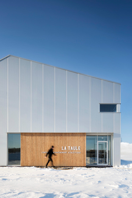 Newsroom - Press release - La Taule - Training center - Architecture Microclimat