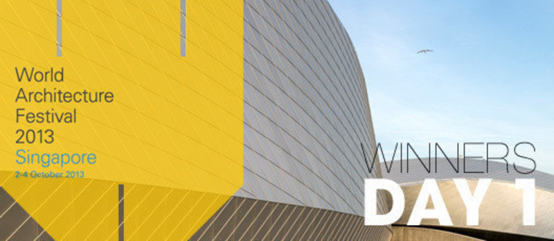 Dossier de presse - Communiqué de presse - 2013 Winners announcedDay one - World Architecture Festival (WAF)